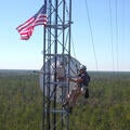 Florida SLERS - worker in tower