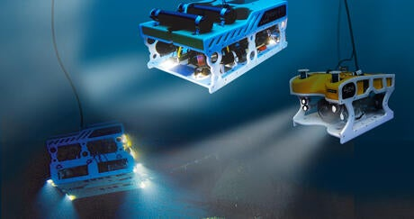 AGEOTEC ROV series, a full range of Remotely Operated Vehicles